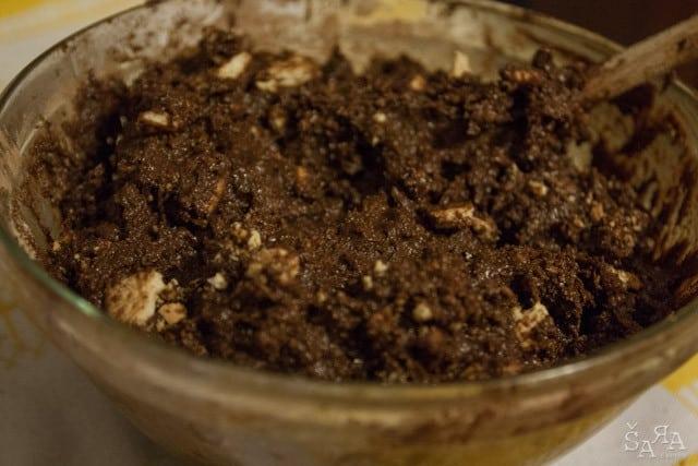Preparação do chocolate