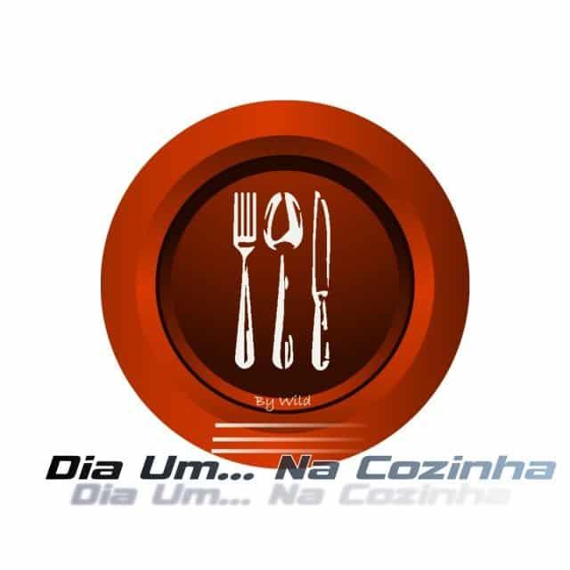 Logotipo Dia Um... Na Cozinha