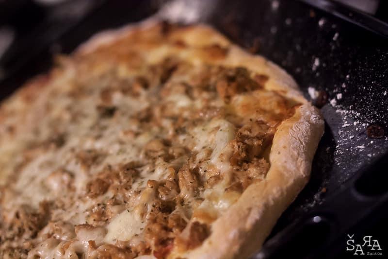 Massa de pizza na bimby