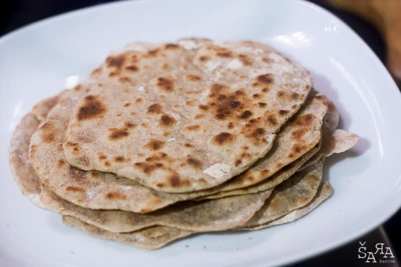 Tortillas de centeio