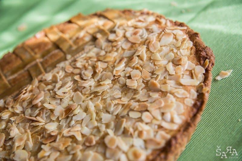 Bakewell Tart ou tarte de amêndoa