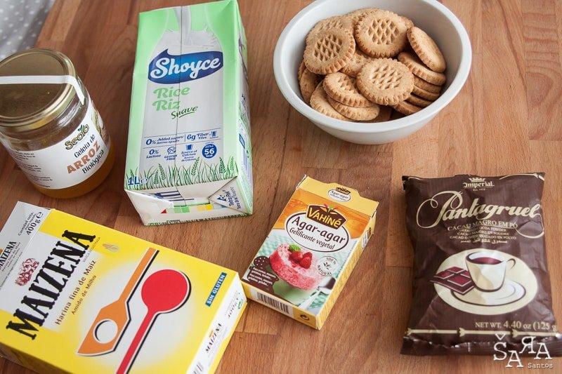 Ingredientes para semi frio de chocolate