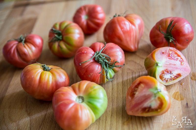 Polpa de tomate Caseira