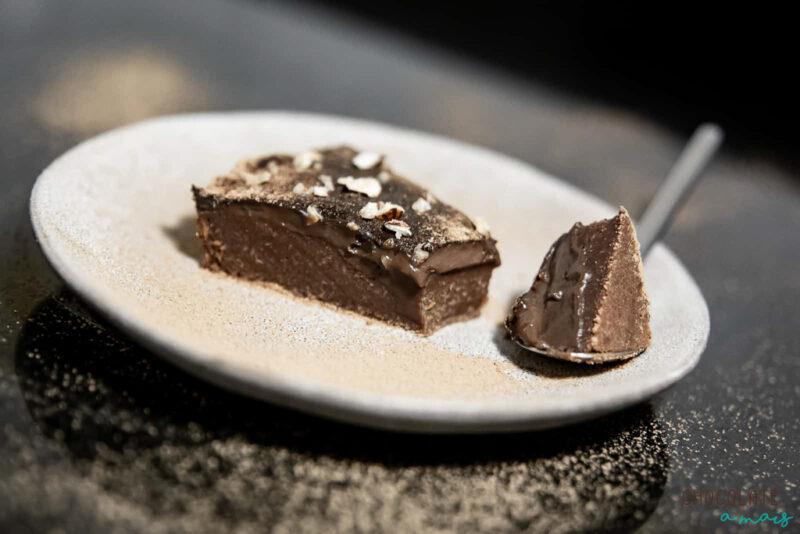 Tarte de chocolate vegan