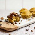 Muffins de aveia e laranja