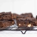 Brownies proteicos de chocolate